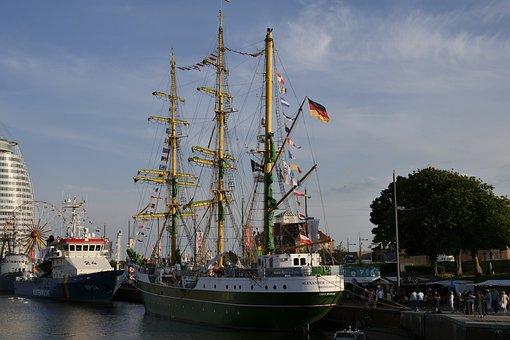 Sailing Vessel, Sailing Ship Alexander Von Humboldt
