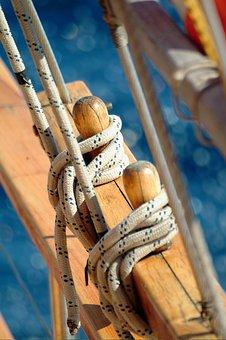 Sailing, Rope, Summer, Sea, Sailing Boat, Yacht