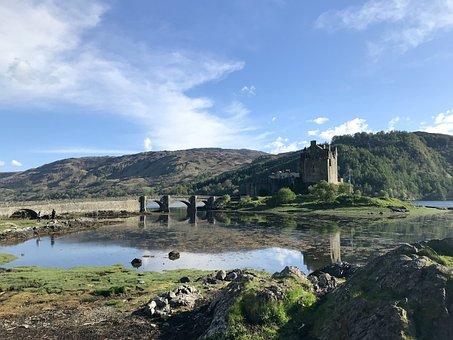 Scotland, Highlands And Islands, Eilean Donan Castel
