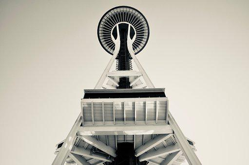 America, Usa, Seattle, Washington State, Space Needle