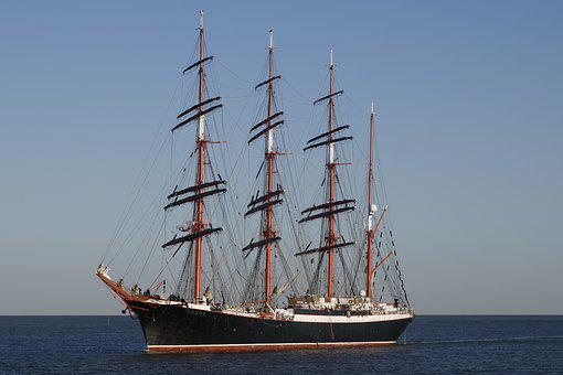 Shipping, Sail Training Ship Sedov