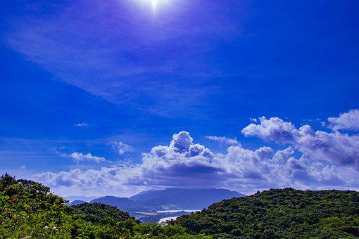 Sky, Sun, Cloud, Landscape, Blue Sky, Natural, Summer