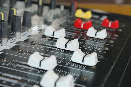 Technology, Display, Mixer, Switch, Music, Analogue