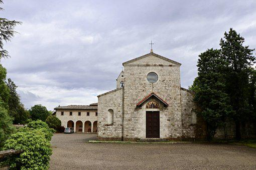 Convent, The Franciscans, Clouds, Friars, Missionaries