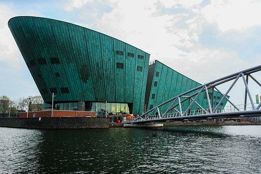Nemo, Amsterdam, The Netherlands, Videnskabsmuseum