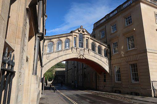 Bridge Of Sighs, Oxford, University, Architecture