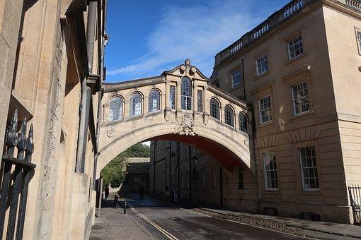 Bridge Of Sighs, Oxford, University, Architecture