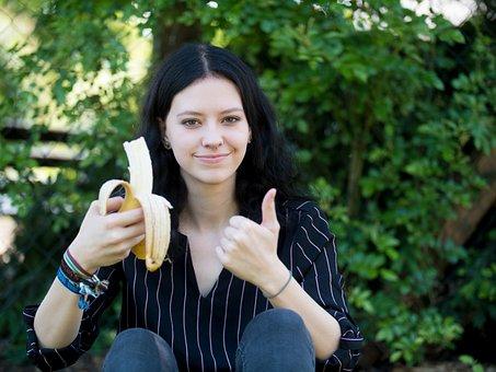 Banana, Fruit, Vegan, Vitamins, Fruits, Frisch