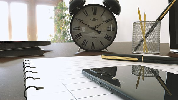 Work, Mobiles, Clock, Business, Office, Computer, Phone