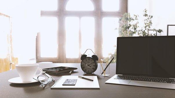 Workbench, Macbook, Table, Fresh, Work, Computer