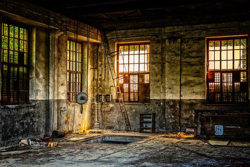 Workshop, Hall, Maintenance, Lost Places, Work