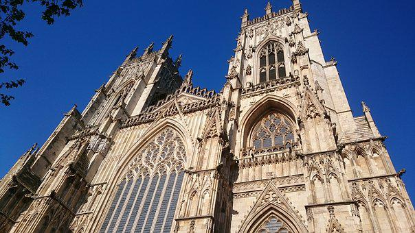 York Minster, Yorkshire, York, Uk, Cathedral