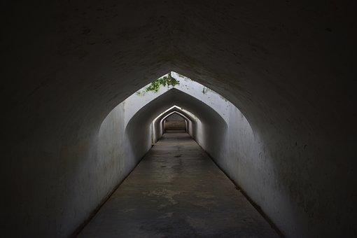 Tunnel, Ancient, Underground, Architecture, Building
