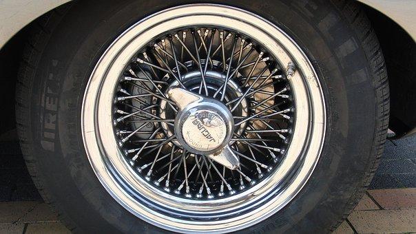 Car Rim, Auto Tires, Jaguar