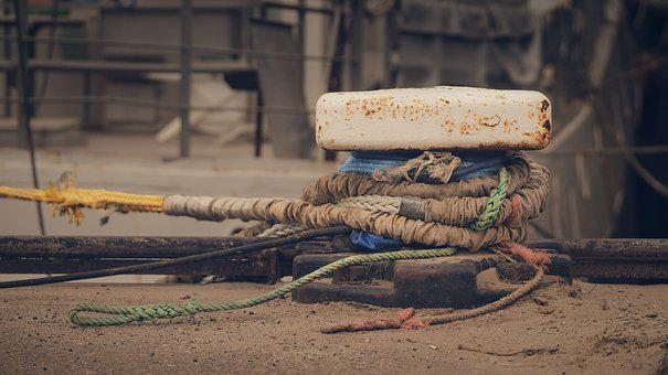 Boat, Rope, Bunches, Ropes, Cable, Tros, Boats, Fix