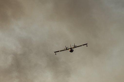 Airplane, Fireman, Fireplane, Canadair, Firefighter
