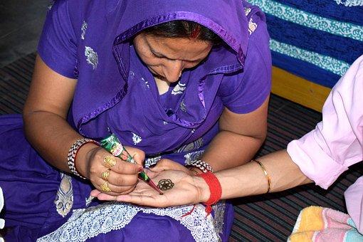 Henna, Culture, Hand, Palm, Festival, Celebration