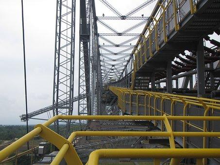 Conveyor Bridge, Takraf, Carbon, Machine, Brandenburg