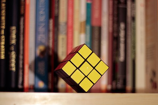 Book, Intelligence, Game, Cube