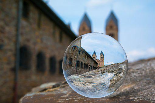 Glass Ball, Monastery, Ball, Church, Abbey, St