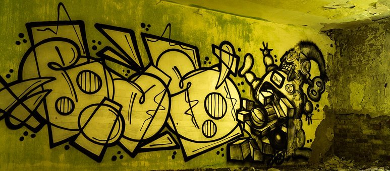 Graffiti, Wall, Art, Facade, Painted Wall, Street Art