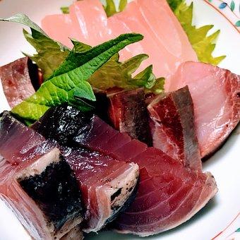 Sashimi, Bonito, Japan Food, Seafood