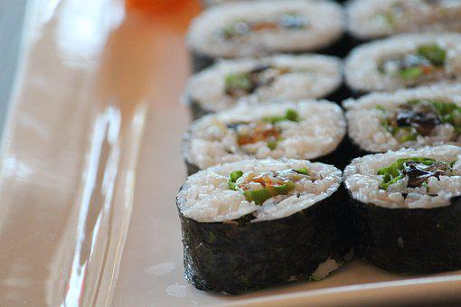 Sushi, Rolls, Traditional, Japanese, Japanese Cook