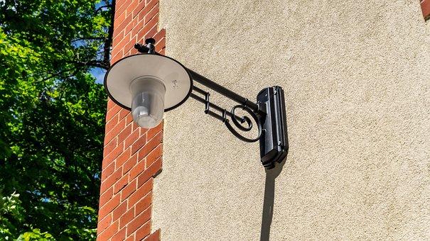 Lamp, Lighting, Metal, Iron, Outdoor