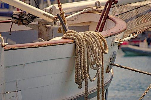 Mooring, Rope, Cord, Marine, Ship, Boat, Vessel