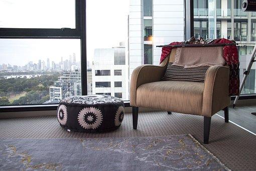 Interior, Apartment, Melbourne, Design, Fur, Modern