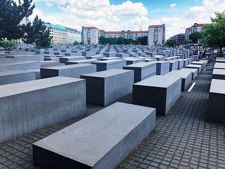 Germany, Berlin, Holocaust Memorial, Monument