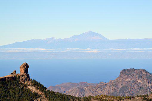 Canary Islands, Mountain, Teneriffe, Landmark
