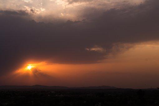 Sunset, Sky, Nature, Sun, Landscape, Cloud, Outdoor
