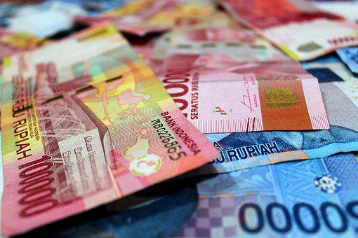 Money, Rupiah, Salary, Economic, Financial, Pay