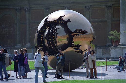 Art, Ball, People, The Vatican Museum