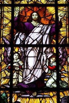 Jesus, Resurrection, Church Window, Mary Rosenberg