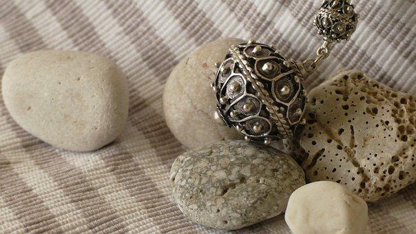Stones, Pebbles, Jewellery, Texture, Material, Rock