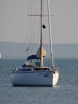 Sailing Boat, Sailing Yacht, Water, Ship, Sail, Holiday