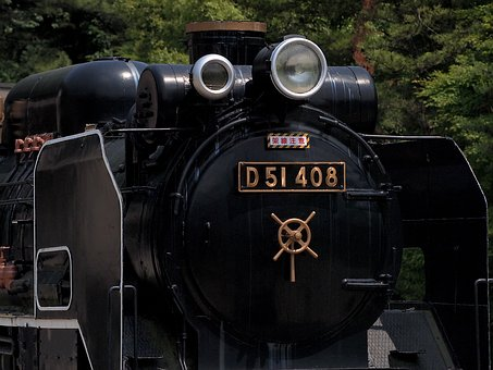 Ikuta Ryokuchi, Locomotive, D51, Steam Locomotive