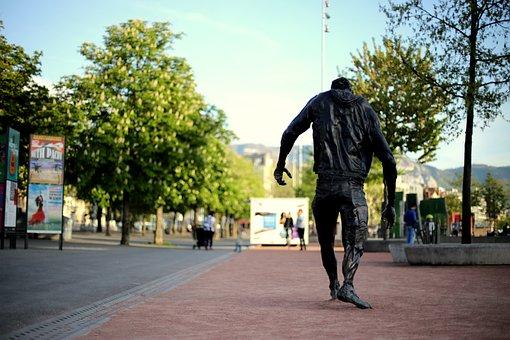 Sculpture, Art, Street Art, Story, Dynamic