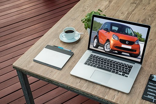Car, Laptop, Computer, Vehicle, Transport, Technology