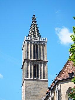 Rohtenburg, Tower, Spire, Architecture, Towers, Sky