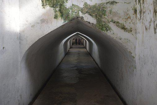 Tunnel, Ancient, Underground, Architecture, Abandoned