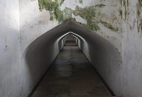 Tunnel, Ancient, Underground, Architecture, History