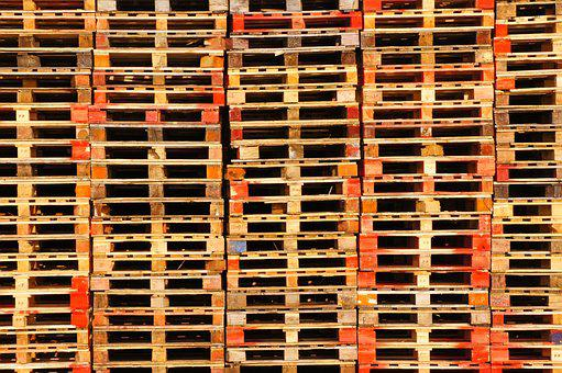 Pallets, Transport, Storage, Euro Pallets, Wood