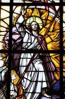 Church Window, Ascension Of Christ, Ascension
