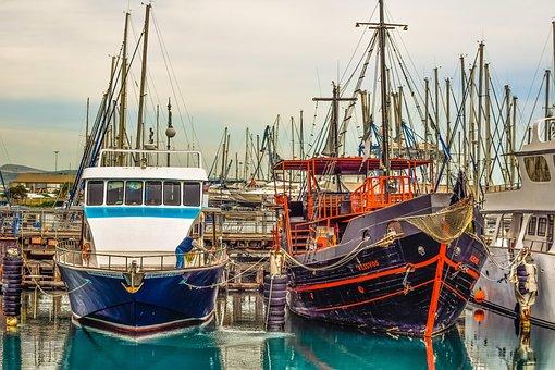 Boat, Marina, Sea, Harbor, Tourism, Sailboat