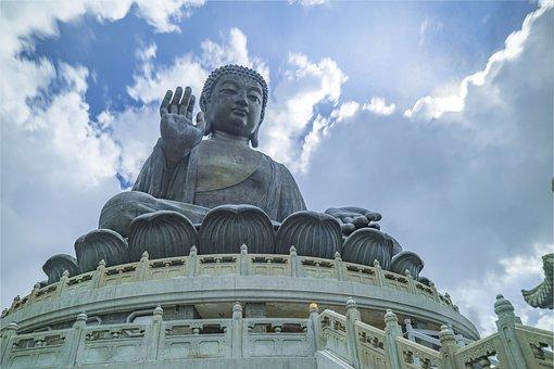 Buddha Statues, Zen, China, Buddha, Religion