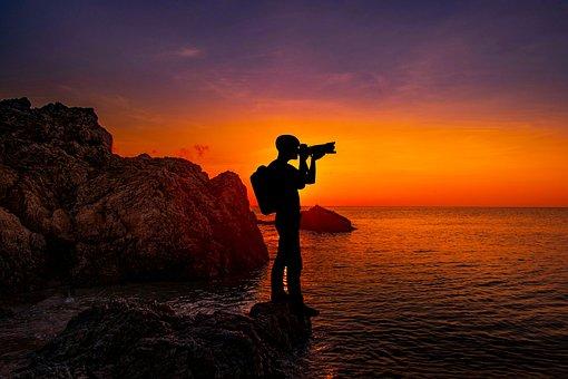 Sunset, Photography, Camera, Photographer, Photo