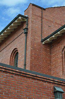 Church, Building, Brick